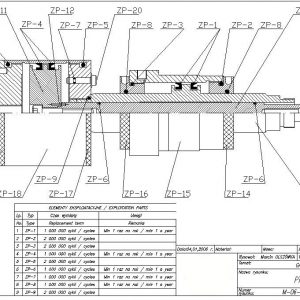 Запасные части и расходные материалы (Схемы и спецификации оборудования)